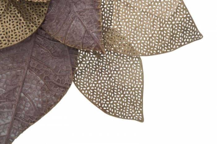 Decorațiune de perete Itis, 61x61x8 cm, metal, multicolor