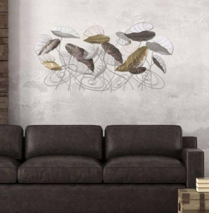Decorațiune de perete Loty, 69x135x7 cm, metal, multicolor