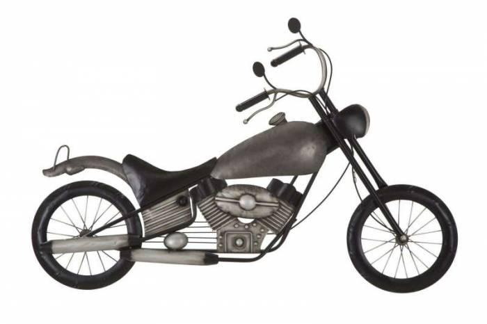 Decorațiune de perete Motorbike, 69x103x5,5 cm, metal, multicolor
