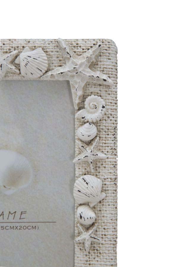 Ramă foto Summertime, 25x20x2.5 cm, polirasina , alb