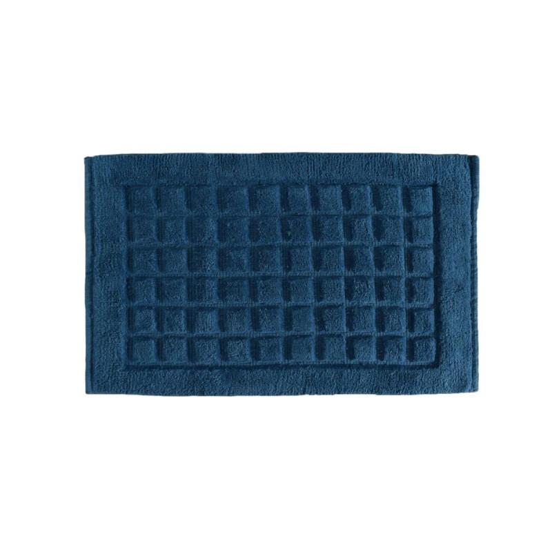 Covoras albastru de baie Damas Navy 50x80 cm poza