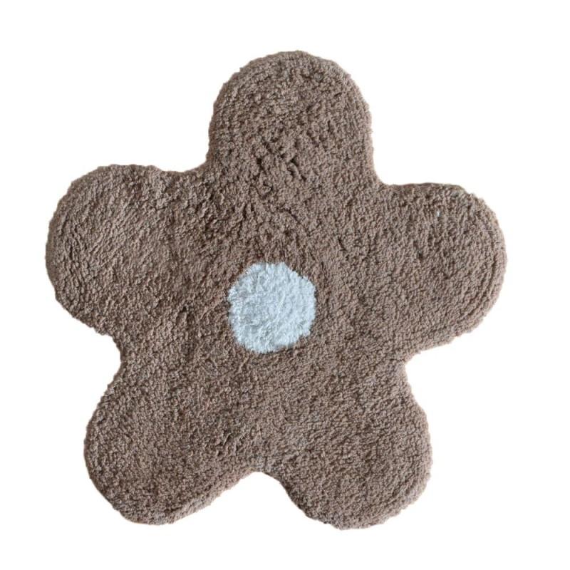 Covoraș de baie maro deschis steluță Alegra poza