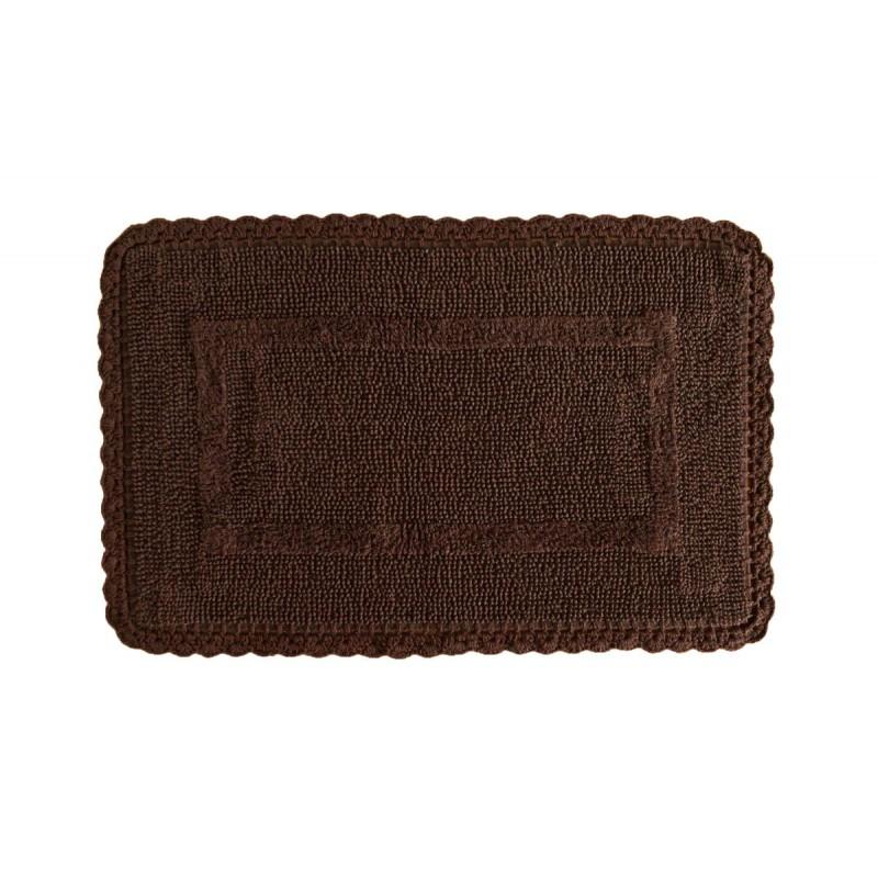 Covoraș maro de baie Crochet Marron 50x80 cm poza