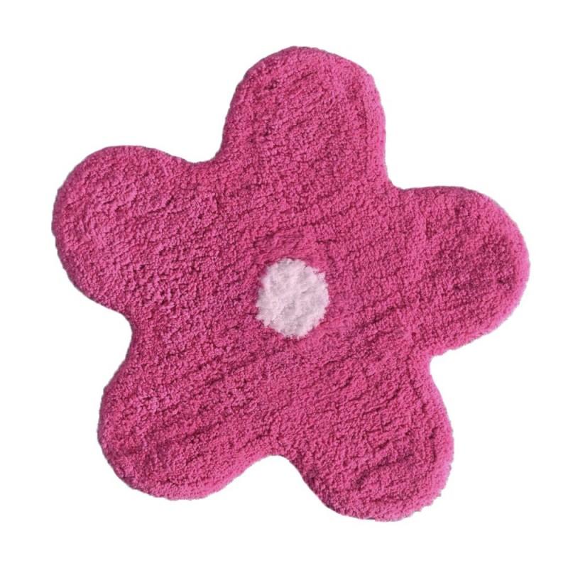 Covoraș roz de baie bumbac Alegra poza