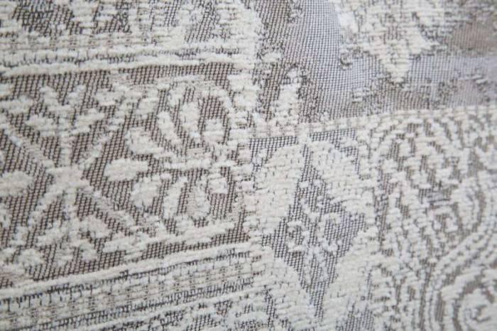 Pătură Damasco, 100x180x8 cm, poliester/ in/ placaj, gri
