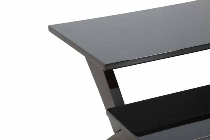 Masă Amalia, 60x60x60 cm, mdf, negru