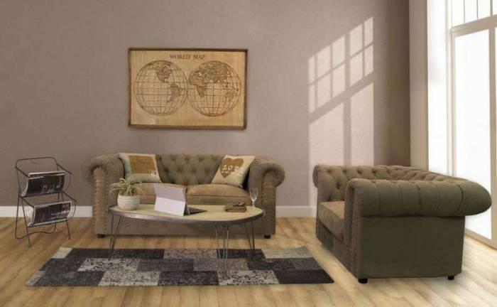 Pernă decorativă I love, 40x40x5 cm, bumbac/ poliester, multicolor