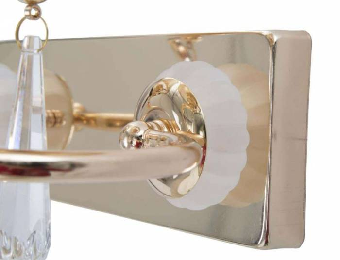 Aplică Ring, 27x32x18 cm, metal/ plastic, auriu
