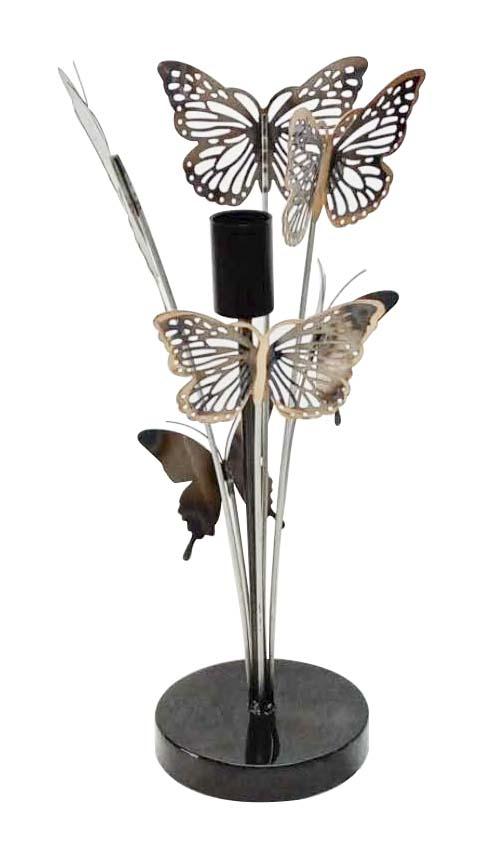 Veioză Farfalle, 47x19,5x19,5 cm, metal, multicolor imagine