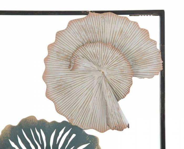 Decorațiune de perete Lec, 88.5x30.5x5 cm, metal, multicolor