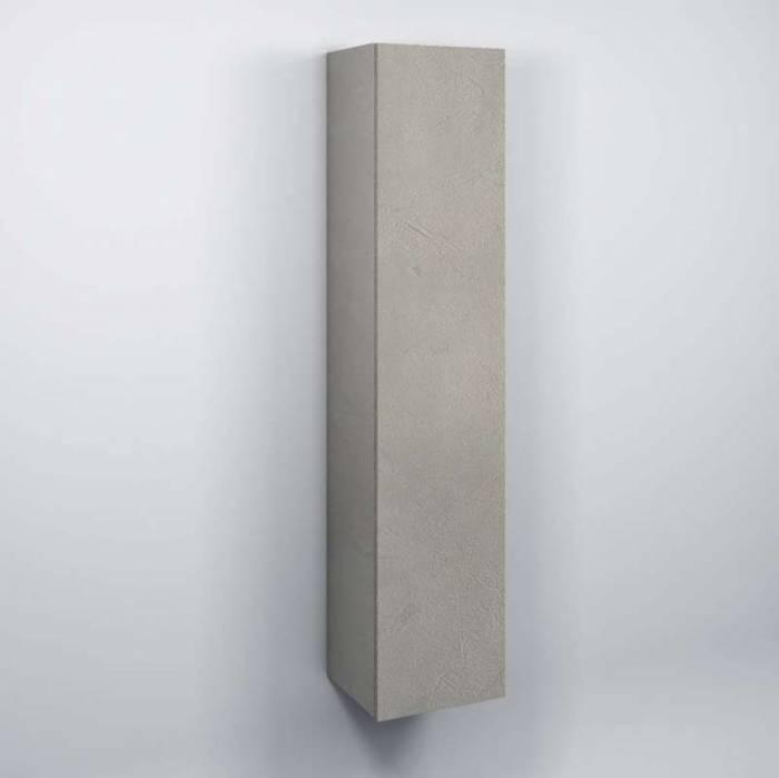 Dulap suspendat de baie Oslo, 160x32x34 cm, melamină, alb