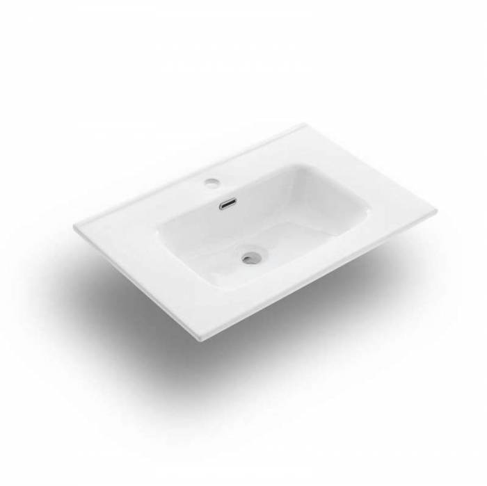 Lavoar Venere, 2x46.5x81 cm, ceramică, alb