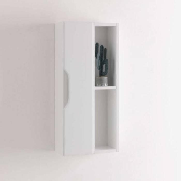 Raft Belsk, 78.2x16x17.5 cm, melamină, alb