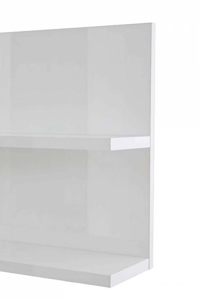 Raft Primo, 48x18x113 cm, melamină, alb