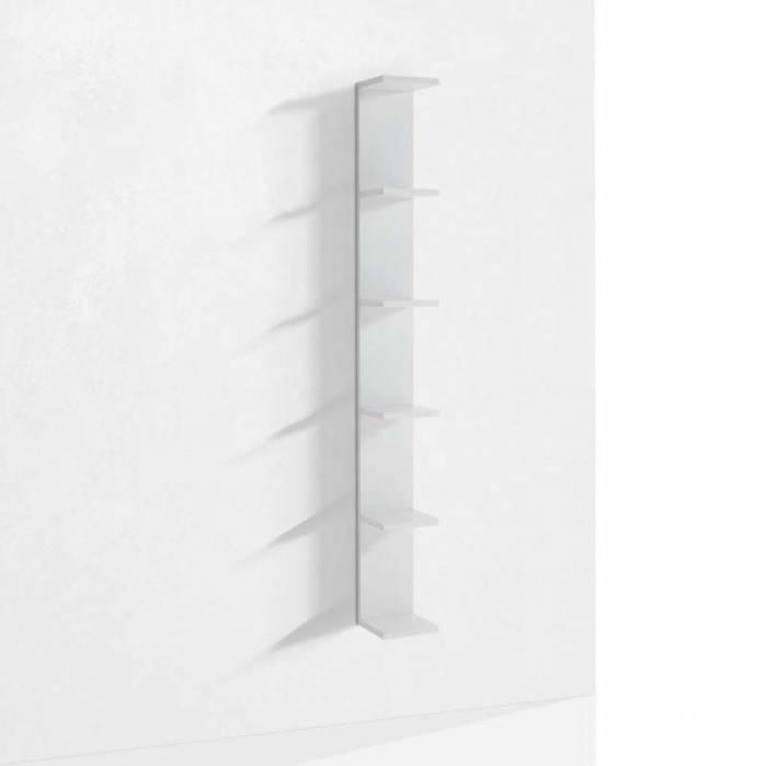 Raft Slim 1, 160x21.8x18 cm, melamină, alb
