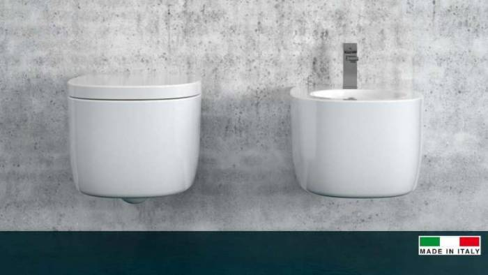 Toaletă Street, 27x35.5x51.5 cm, ceramică, alb