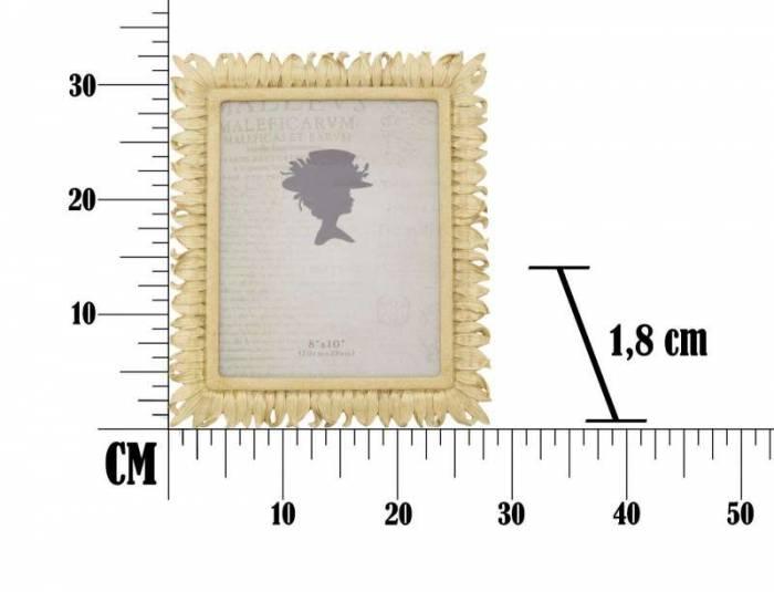 Ramă foto Stick , 33x28x1.8 cm, rasina, auriu