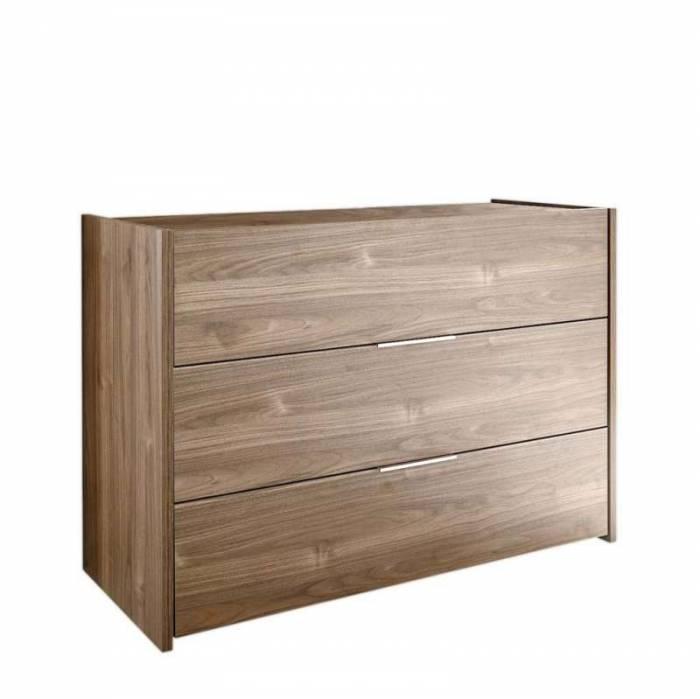 Comodă Durban, 79x50x111 cm, lemn, maro