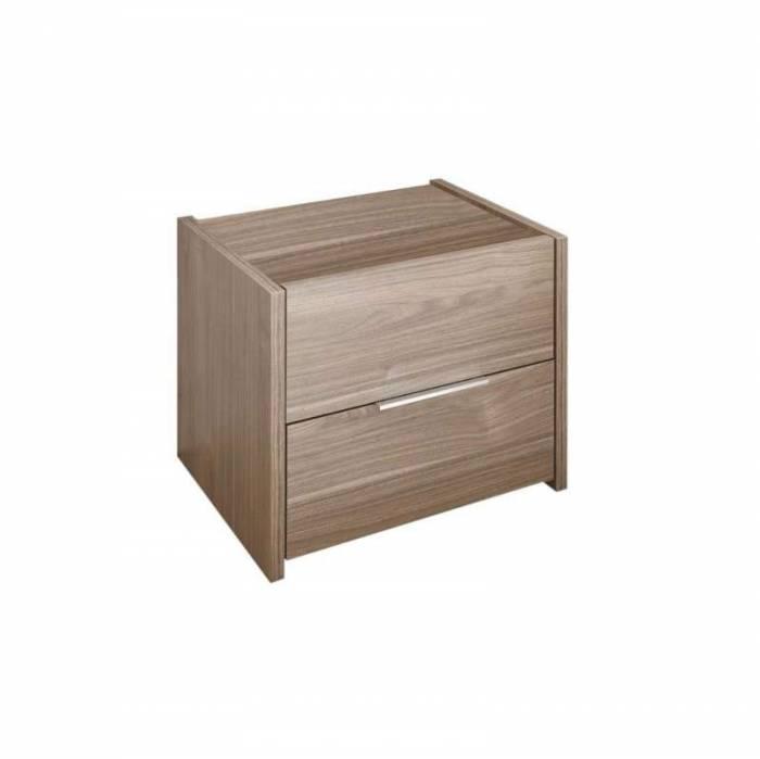 Noptiere Durban, 42x40x51 cm, lemn, maro