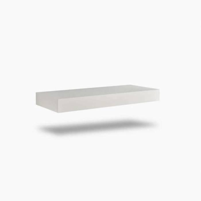 Raft Belsk, 10x45.1x120 cm, mdf, alb