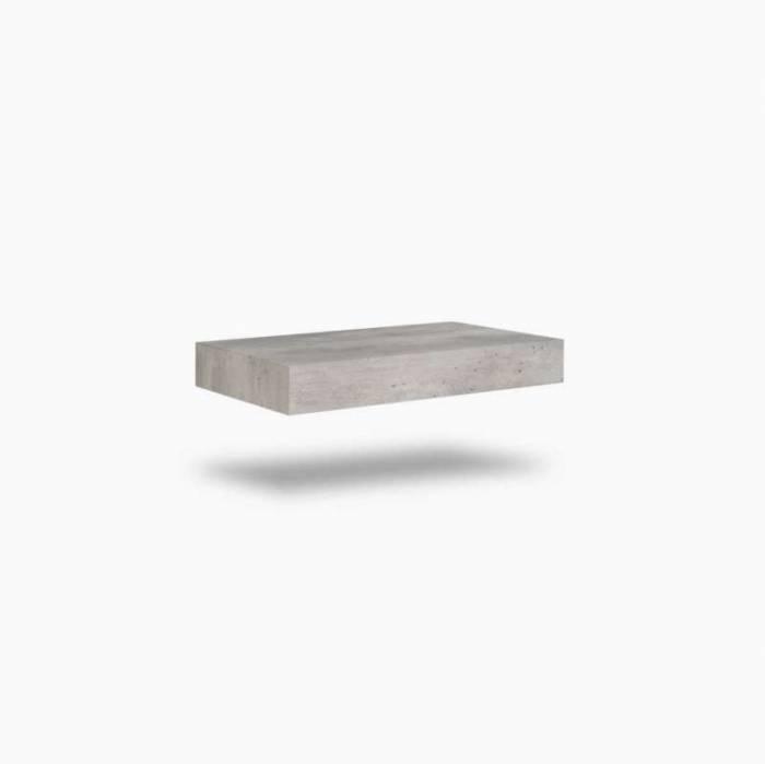 Raft Belsk, 10x45.1x90 cm, mdf, gri