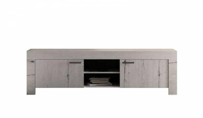 Comodă TV Sax, 53x43x180 cm, melamină, alb
