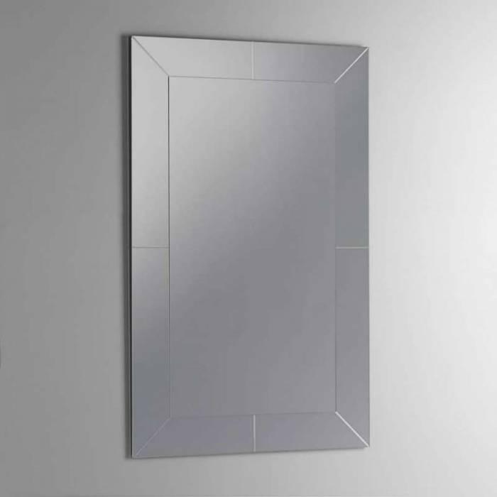 Oglindă de perete Notch, 70x3x90 cm, sticlă/abs, transparent