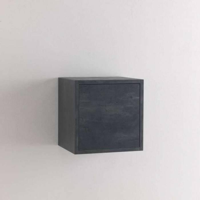 Dulap suspendat Oslo, 34x27x34 cm, melamină, albastru