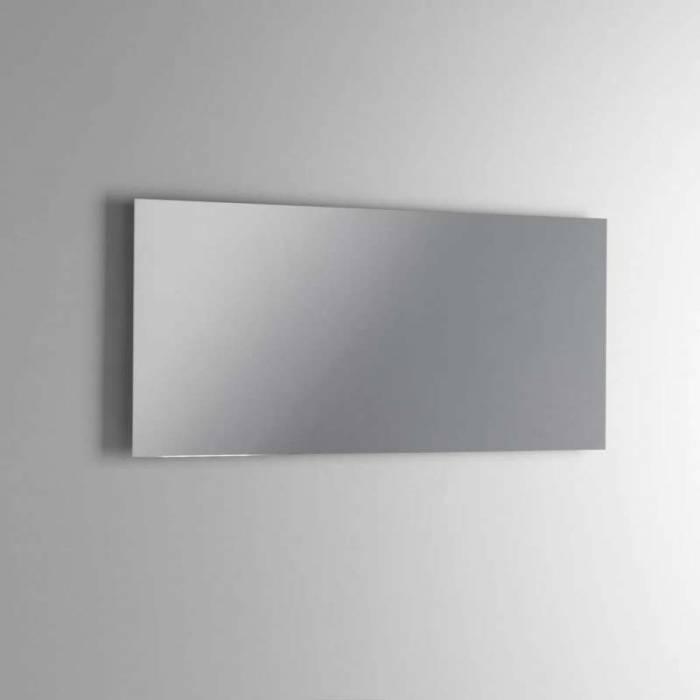Set de baie 4 piese Ribe, 190x47x101 cm, melamină/ ceramică/ sticlă/ metal, maro