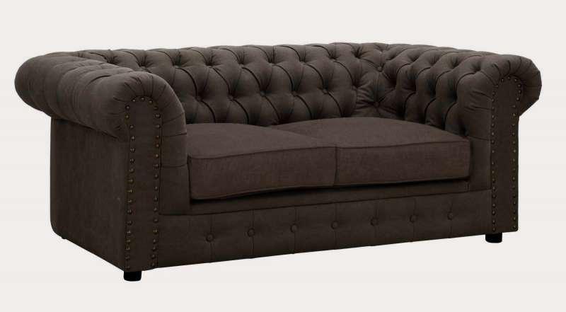Canapea Sofa Loft, 71x175x97 Cm, Placaj/ Metal/ Textil, Maro