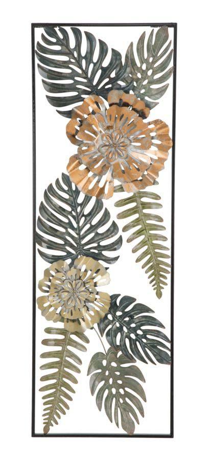 Decorațiune de perete Too, 88.5x30.5x3 cm, metal, multicolor