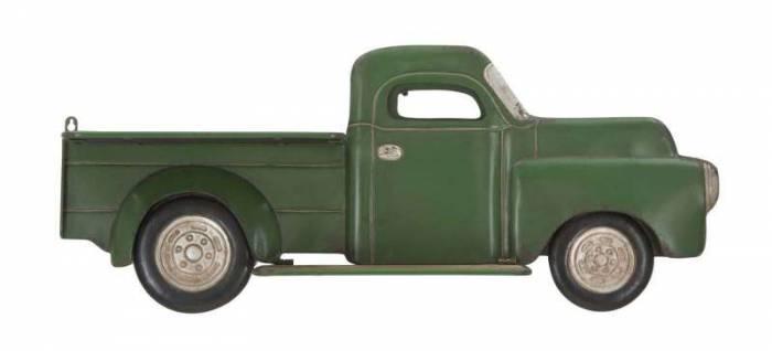 Raft de perete Truck, 35.5x87.5x15.5 cm, metal, verde