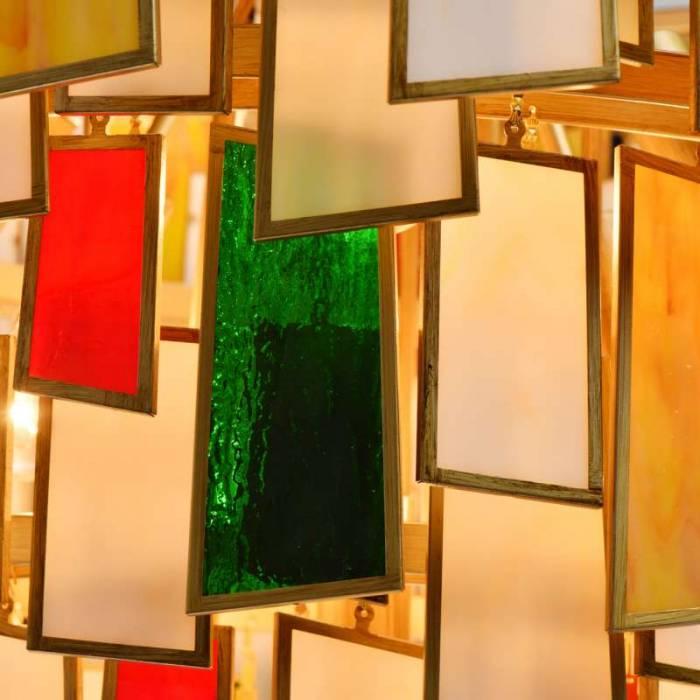 Candelabru multicolor Osiris M