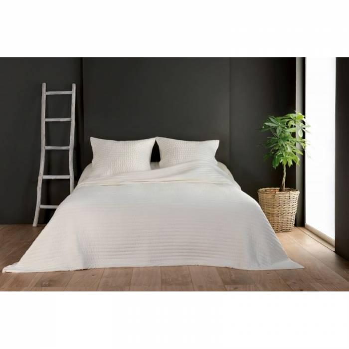 Cuvertură de pat bej Riviera 230x250 cm
