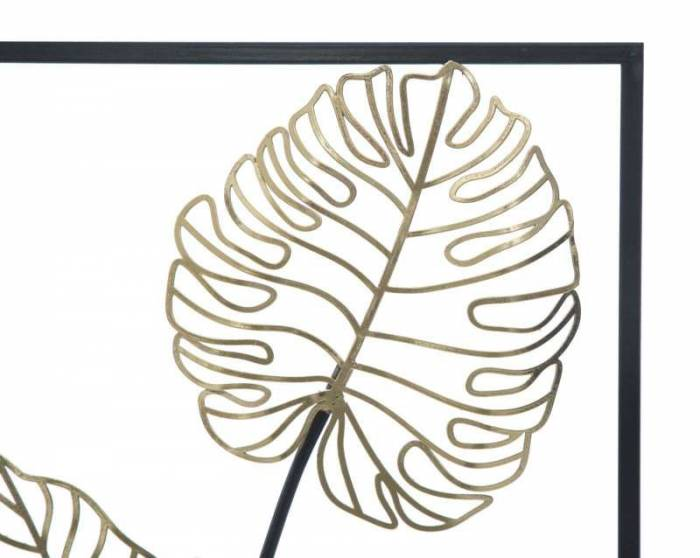 Decorațiune de perete Luxy Right, 90x31x2,5 cm, metal, multicolor