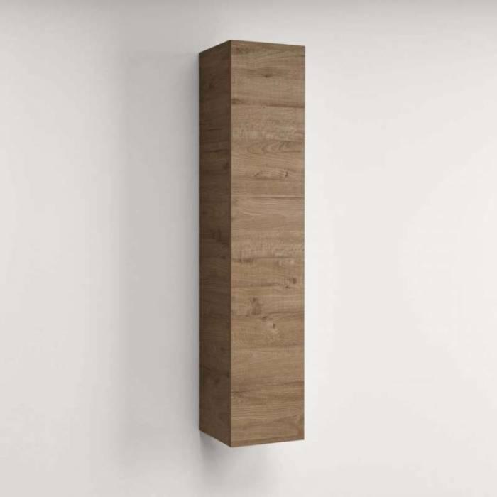 Dulap suspendat Cube Rovere Miele, 140x31x29 cm, melamină, maro