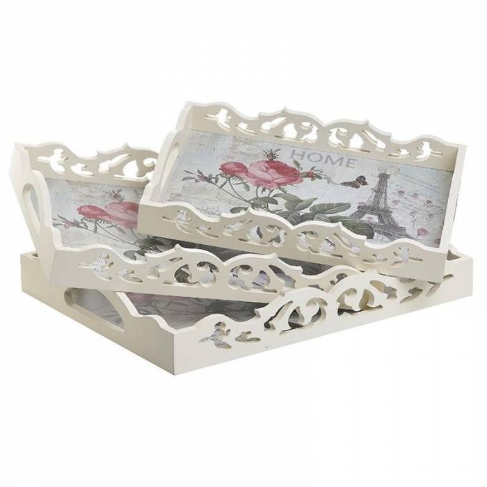 Set 3 tăvi decorative Kit