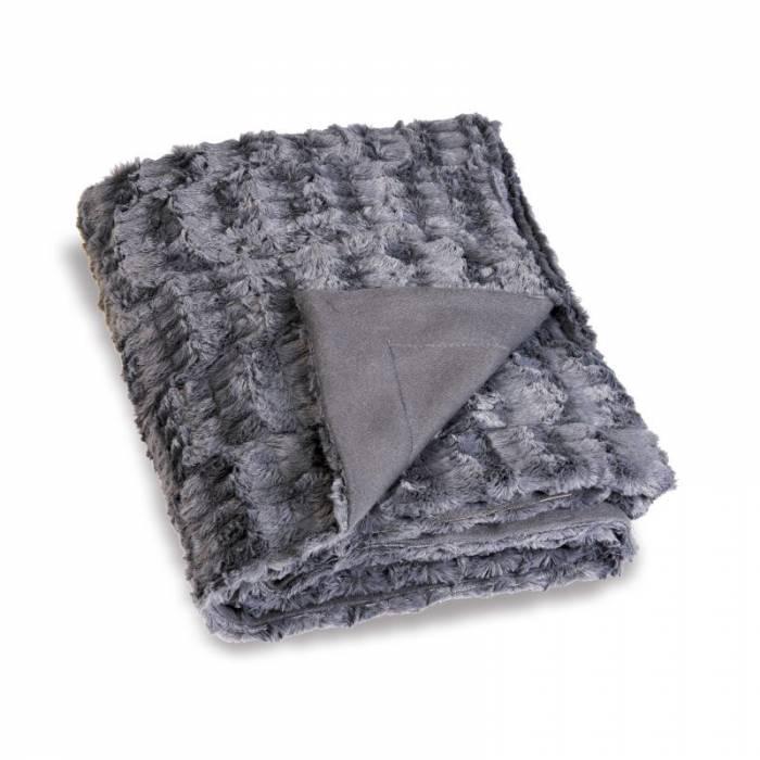 Pătură gri călduroasă 5017 Antarctic 130x180 cm