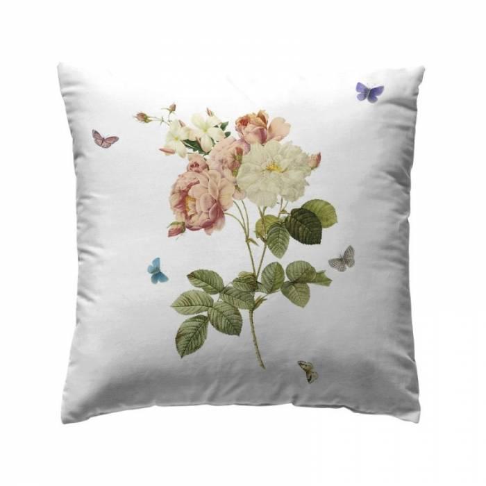 Pernă deco floare colorată Loneta Tualum Original 40x40 cm